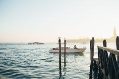 米兰运河的看法 米兰,意大利 免版税库存图片