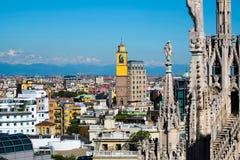 米兰都市风景 免版税图库摄影