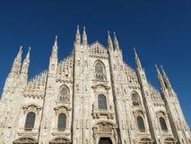 米兰,中央寺院大教堂1360,意大利, 2013年 库存图片