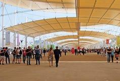 米兰,商展2015年 免版税库存照片