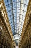 米兰,圆顶场所维托里奥Emanuele II 免版税库存图片
