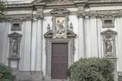米兰,圣朱塞佩教会细节 免版税库存图片