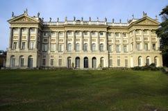米兰,意大利皇家别墅  免版税图库摄影