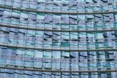 米兰,意大利,财政区视图 库存图片