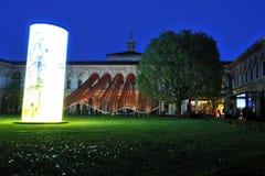 米兰,意大利, 2016个设计星期- Fuorisalone UniversitàStatale 免版税图库摄影
