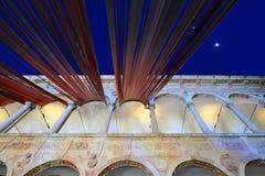 米兰,意大利, 2016个设计星期- Fuorisalone UniversitàStatale 库存照片