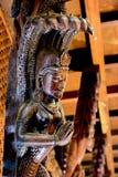 米兰,意大利- 2015年10月20日, :在繁体中文文化的精妙的雕刻 库存照片