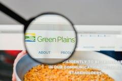 米兰,意大利- 2017年8月10日:绿色抱怨在网站上的商标 库存照片
