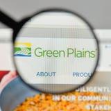 米兰,意大利- 2017年8月10日:绿色抱怨在网站上的商标 免版税库存照片