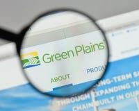 米兰,意大利- 2017年8月10日:绿色抱怨在网站上的商标 图库摄影