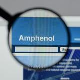 米兰,意大利- 2017年8月10日:Amphenol网站 它是少校 免版税库存照片