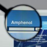 米兰,意大利- 2017年8月10日:Amphenol网站 它是少校 库存图片