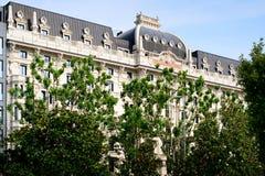 米兰,意大利2014年6月06日:在中央驻地,米兰意大利附近的Gallia旅馆 库存照片