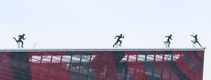 米兰,意大利- 2017年3月02日:米兰伦巴第,意大利:t屋顶  库存照片