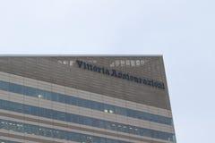 米兰,意大利- 2017年3月02日:Vittoria Assicurazioni大厦我 库存图片