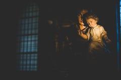 米兰,意大利- 12月10,2015 :教会圣洁玛丽雍容(圣玛丽亚delle Grazie),米兰 图库摄影
