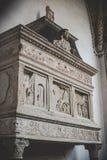 米兰,意大利- 12月10,2015 :教会圣洁玛丽雍容(圣玛丽亚delle Grazie),米兰 免版税图库摄影