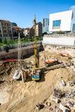 米兰,意大利- 9月19,2017 :新的摩天大楼Unipol总部建造场所由MCA马力欧Cucinella建筑师设计了 库存图片