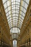 米兰,意大利- 13-05-2017 :圆顶场所维托里奥Emanuele II在米拉 免版税图库摄影