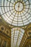 米兰,意大利- 13-05-2017 :圆顶场所维托里奥Emanuele II在米拉 免版税库存照片