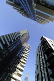 米兰,米兰日光浴室,鲽鱼,唱腔在全国范围内耸立最高的住宅单位 免版税图库摄影
