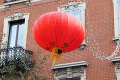 米兰,米兰,中国新的year'eve 库存照片