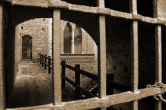 米兰,米兰castello sforzesco 库存图片