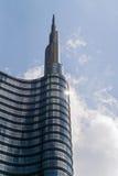 米兰, ITALY-MAY 13日2017年:全景新未来派 免版税库存照片