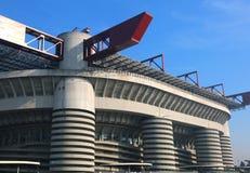 米兰, MI,意大利- 2016年12月9日:橄榄球场叫Sta 库存图片