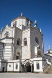 米兰(伦巴第,意大利) :Cimitero Monumentale 免版税库存图片