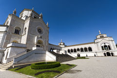 米兰(伦巴第,意大利) :Cimitero Monumentale 库存图片