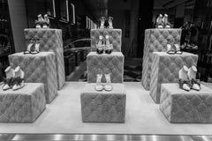 米兰- 2016年10月9日:古驰商店在米兰 免版税库存图片