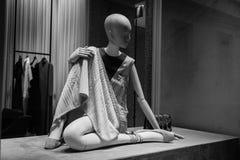 米兰- 2016年10月9日:瓦伦蒂诺商店在米兰 图库摄影