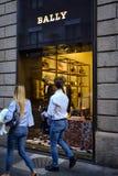 米兰- 2016年10月9日:非常的商店在米兰 图库摄影
