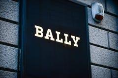 米兰- 2016年10月9日:非常的商店在米兰 免版税库存照片