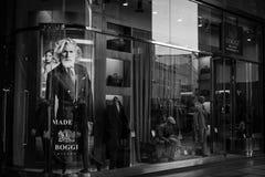 米兰- 2016年10月9日:Boggi商店在米兰 库存图片