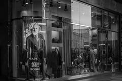 米兰- 2016年10月9日:Boggi商店在米兰 免版税库存图片