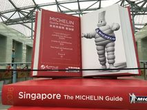 米其林指南新加坡 库存图片