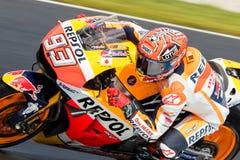 2016年米其林澳大利亚摩托车格兰披治 库存照片