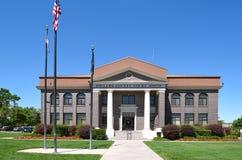 米勒德县法院大楼 免版税库存图片