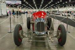 米勒路轨框架Indy汽车Burd活塞环简单程序设计语言 库存图片