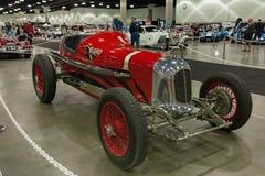 米勒路轨框架Indy汽车Burd活塞环简单程序设计语言 免版税库存图片