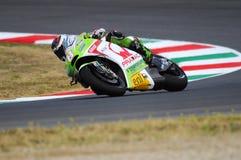 米卡Kallio杜卡迪MotoGP 2012年 库存照片
