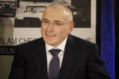 米哈伊尔・霍多尔科夫斯基(Michail Chodorkowski) 图库摄影