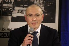 米哈伊尔・霍多尔科夫斯基(Michail Chodorkowski) 免版税库存图片