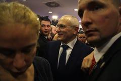 米哈伊尔・霍多尔科夫斯基(Michail Chodorkowski) 库存图片