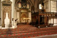 米哈拉布清真寺墙壁 库存图片