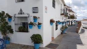 米哈斯村庄西班牙 免版税库存图片
