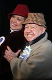 米基・鲁尼和妻子1月卢尼 库存图片