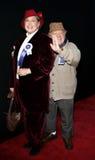米基・鲁尼和妻子1月卢尼 库存照片